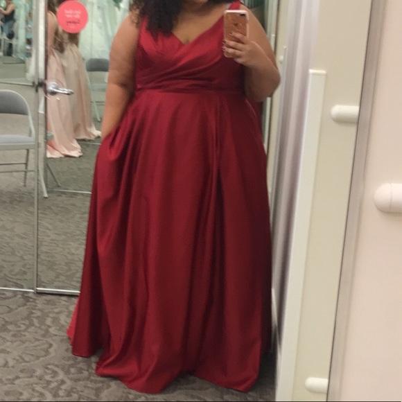 48bcc678b4c David s Bridal Dresses   Skirts - Plus size prom dress
